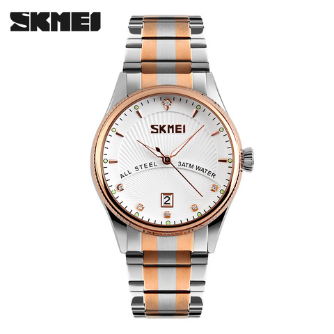 2019 Watches men luxury brand Skmei quartz watch men full steel wristwatches dive 30m Fashion sport watch relogio masculino Pakistan