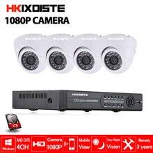 4CH AHD DVR 4pcs 2.0MP 1080P Camera Security Surveillance CCTV Camera System Indoor home IR Night Vision 1080n 1080p AHD DVR