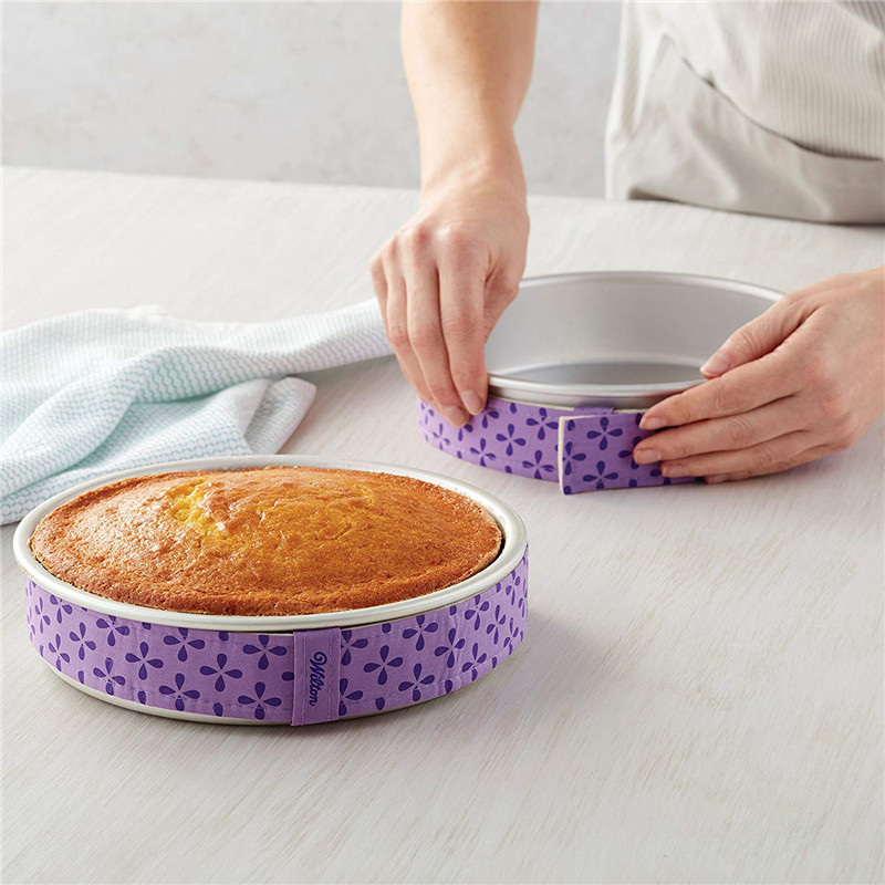 Image 5 - Wilton Bake Even Strip Cake Pan Dampen Strips Cake Strips for Baking, Cake Pan Strips Takes Baking to the Next Level   2 Piece-in Baking & Pastry Tools from Home & Garden
