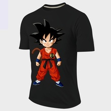 Cartoon tshirt Men/Women Anime Goku Dragon Ball funny Print 3d t shirt Unisex Casual T-Shirt plus size S-3XL Free shipping