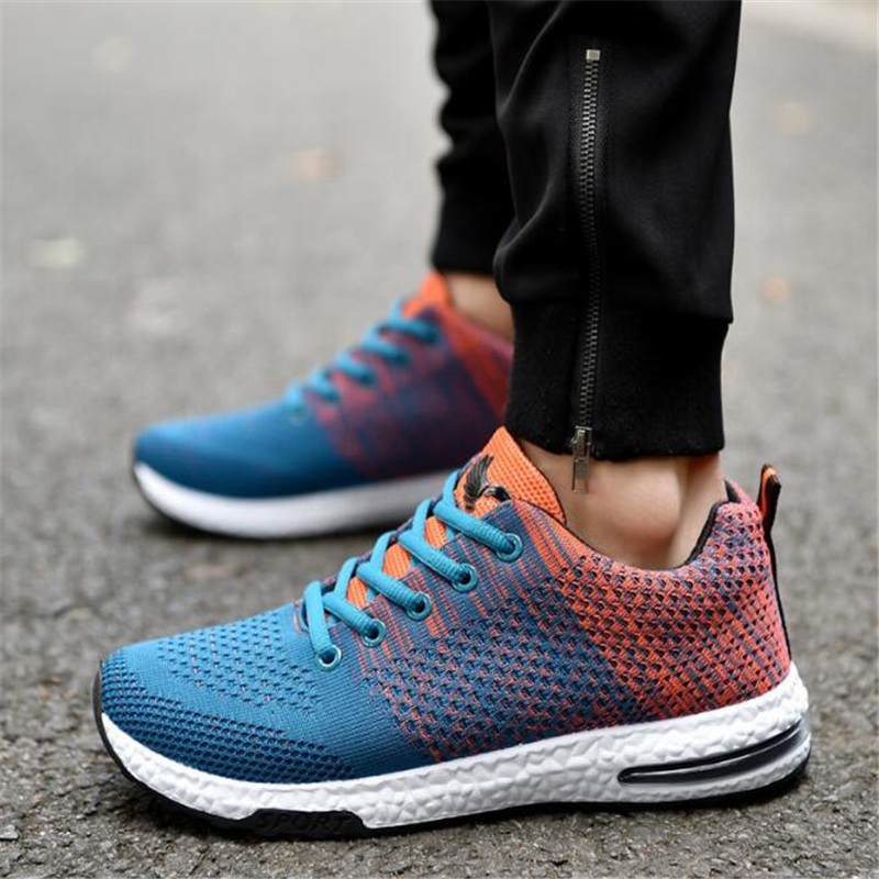Men Sports Shoes Breathable Slip Air Cushion max Running Shoes for men black outdoor sneakers jogging shoes walking 2018 Spring