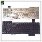 New Original Russian Keyboard for Asus G751 G751JM G751JT G751JY 0KNB0-E601RU00 ASM14C33SUJ442 and Ukraine RU same as photo RU