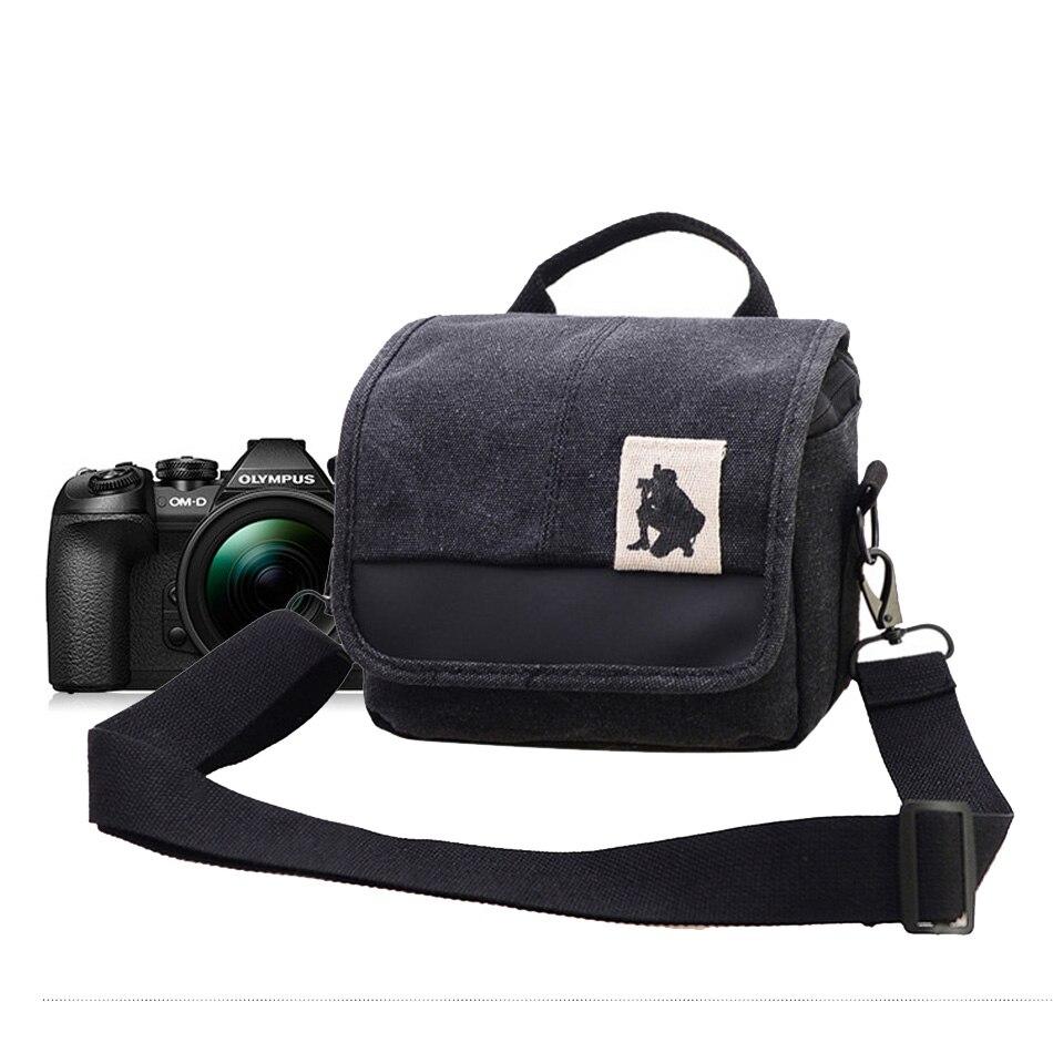 Nice Camera Bag For Olympus DV Camera Video Case For Olympus TG1 TG2 TG3 TG310 SH1 SH2 XZ10 SZ31M EPL-3 EPM-2 EPL5 Shoulder Bag