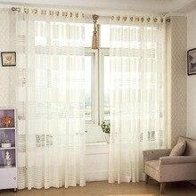 Envío libre de lujo moderno cortinas jacquard zhh sentado dormitorio sala de estar sólido ventana cortinas transparentes de perforación