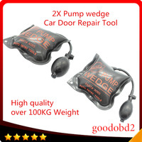 High Quality 2pcs Car Diagnostic Repair Tools KLOM PUMP WEDGE Air Wedge Medium Size 5 9inch