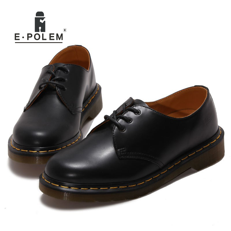 Classic Genuine Cow Leather Oxfords Shoes Women Casual Flats Footwear Black/Claret women oxfords soft footwear classic female designer working shoes women comfortable shoes aa30096
