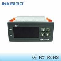Inkbird ITC-1000 12 В двухступенчатый регулятор температуры, f/c градусов дисплей, толще датчик температуры и провод, звуковой сигнал