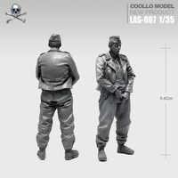 Kits de resina 1/35 soldado de resina blindado Las-07 autoensamblado