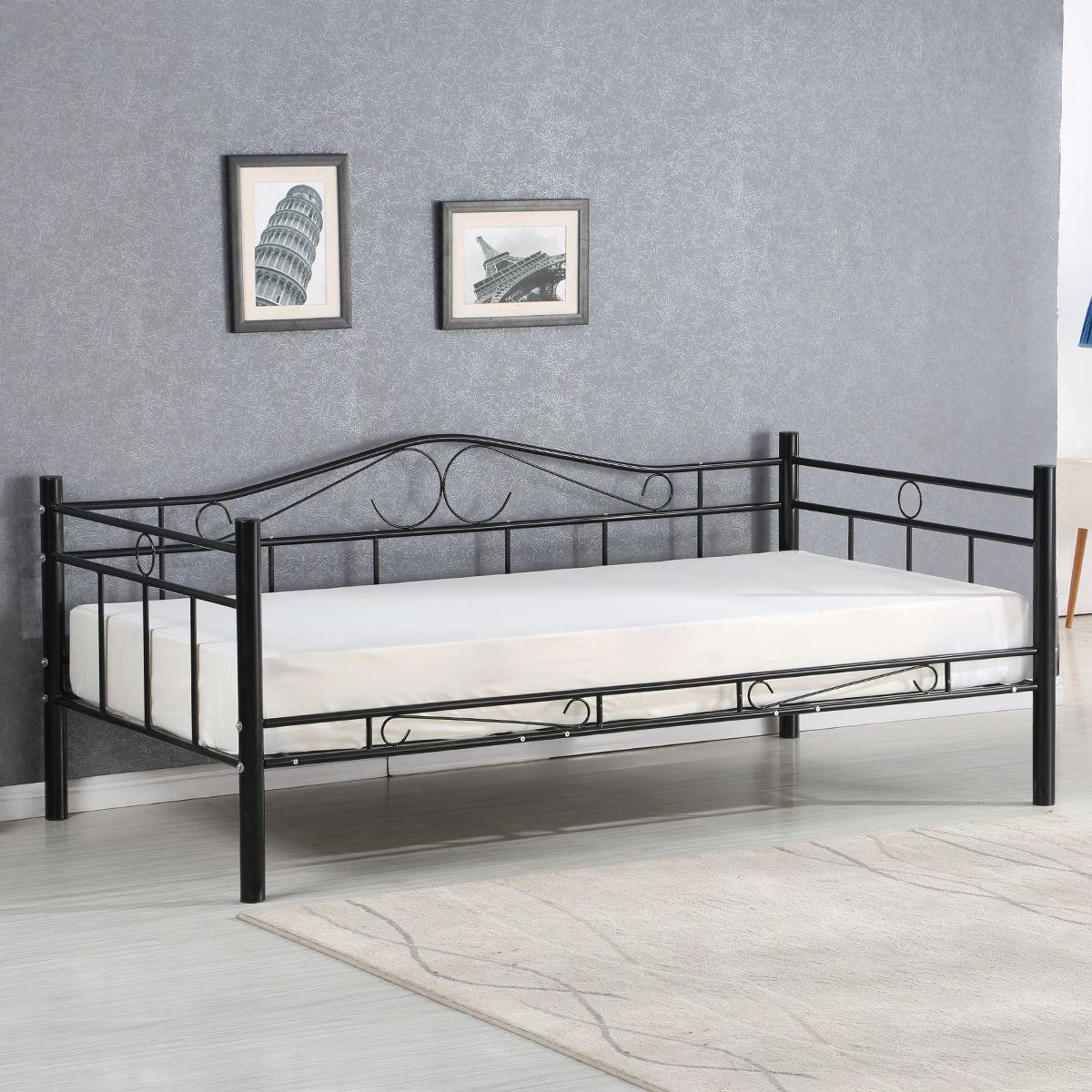 Metal Frame Sofa Bed Modern Design Pictures Perfect Framed Beds 78 For