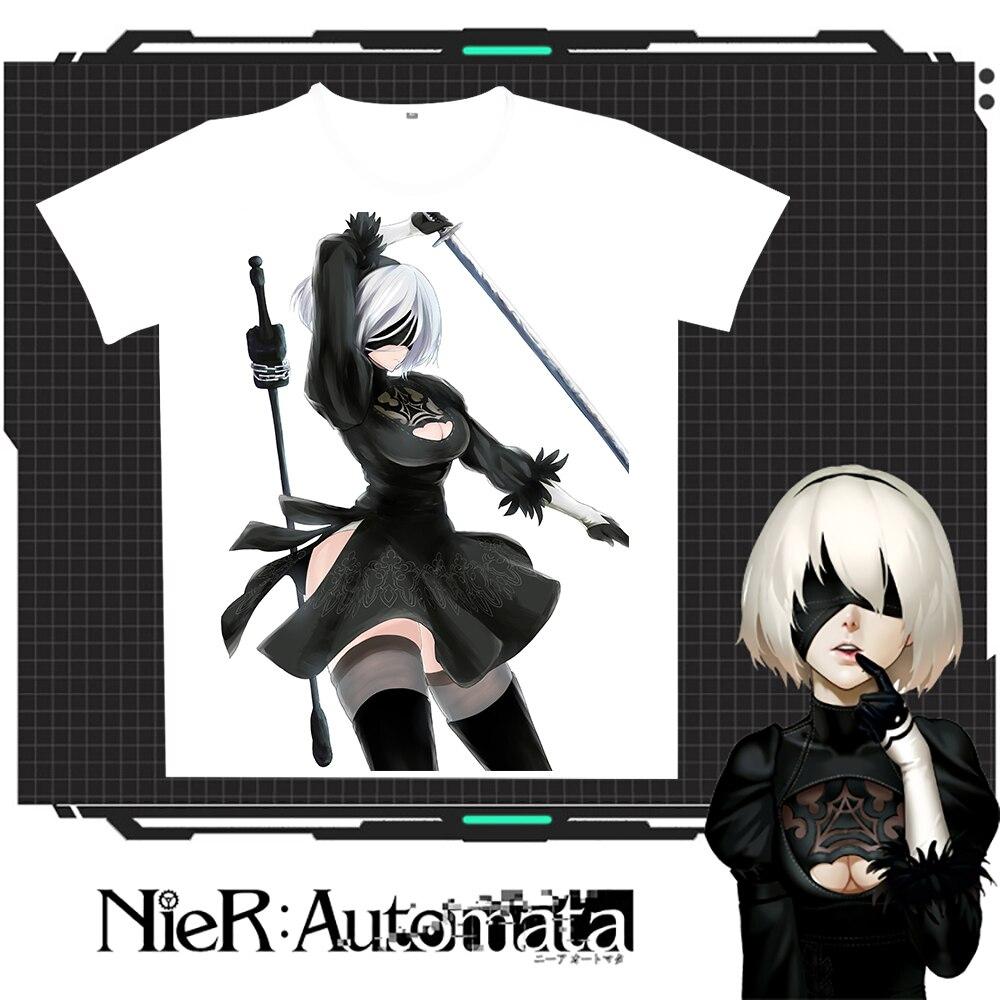New Nier: T-shirt Rastesishme Automata 2B Burra Verore Gratë e - Veshje për meshkuj - Foto 4