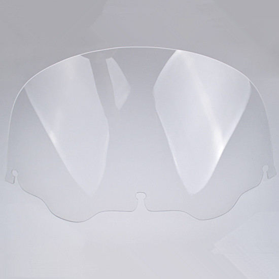 Clear 13 Wave Windshield Windscreen For 1996 2013 Harley Electra Street Glide Touring