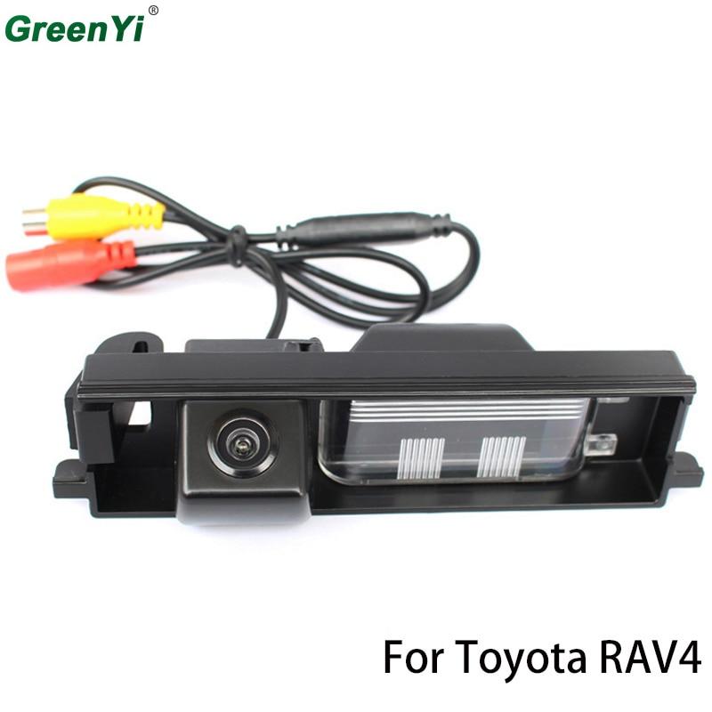 CCD сзади Камера заднего вида Камера для Toyota RAV4 2006 2007 2008 2009 2010 2011 2012 ...