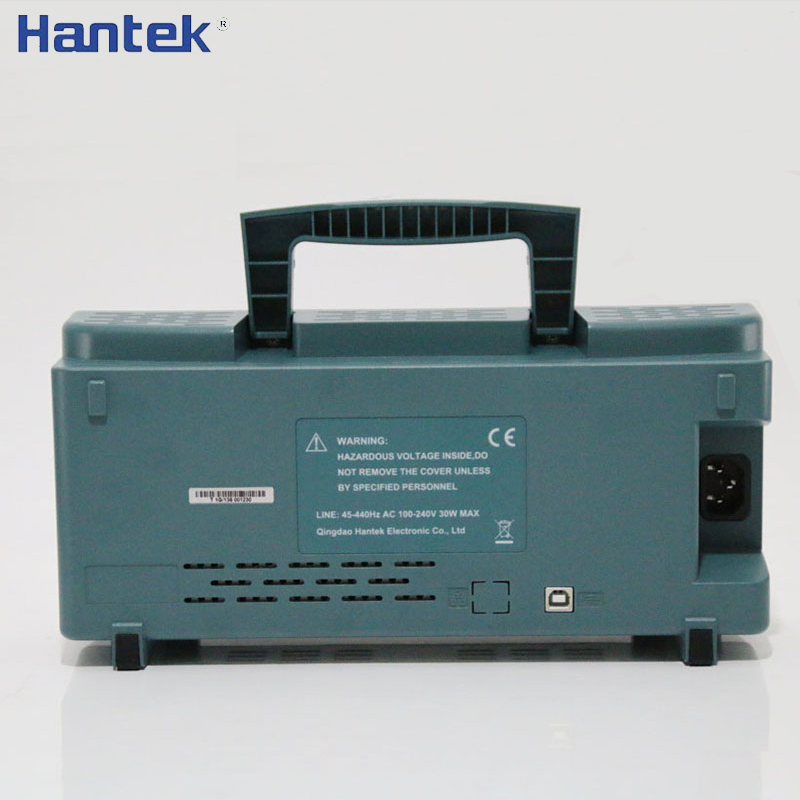 Hantek DSO5202P цифровой осциллограф 200 МГц 2 канала 1GSa/s 7 ''TFT ЖК-дисплей длина записи 40 К USB Osciloscope Osciloscopio