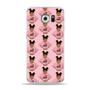 MORONI Coque de téléphone Mélanine Poppin Reine Étui de téléphone Pour Samsung S7 edge/s6/S9/s8/s8 Plus A6 A7 housse pour Galaxy Note8 Noir Fille Magique Étui Souple EN TPU 1