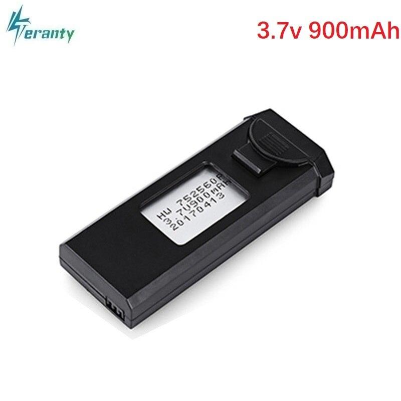 D'origine 3.7 v 900 mah 30C Lipo Bettery Pour VISUO XS809 XS809W XS809HW xs809s Batterie 752560 Ventes Chaudes 3.7 v au Lithium batterie