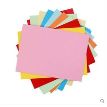 100 листов цветной А4 копировальной бумаги 80 г разноцветная немелованная бумага 12 цветов бумага ручной работы оригами Бумага для печати
