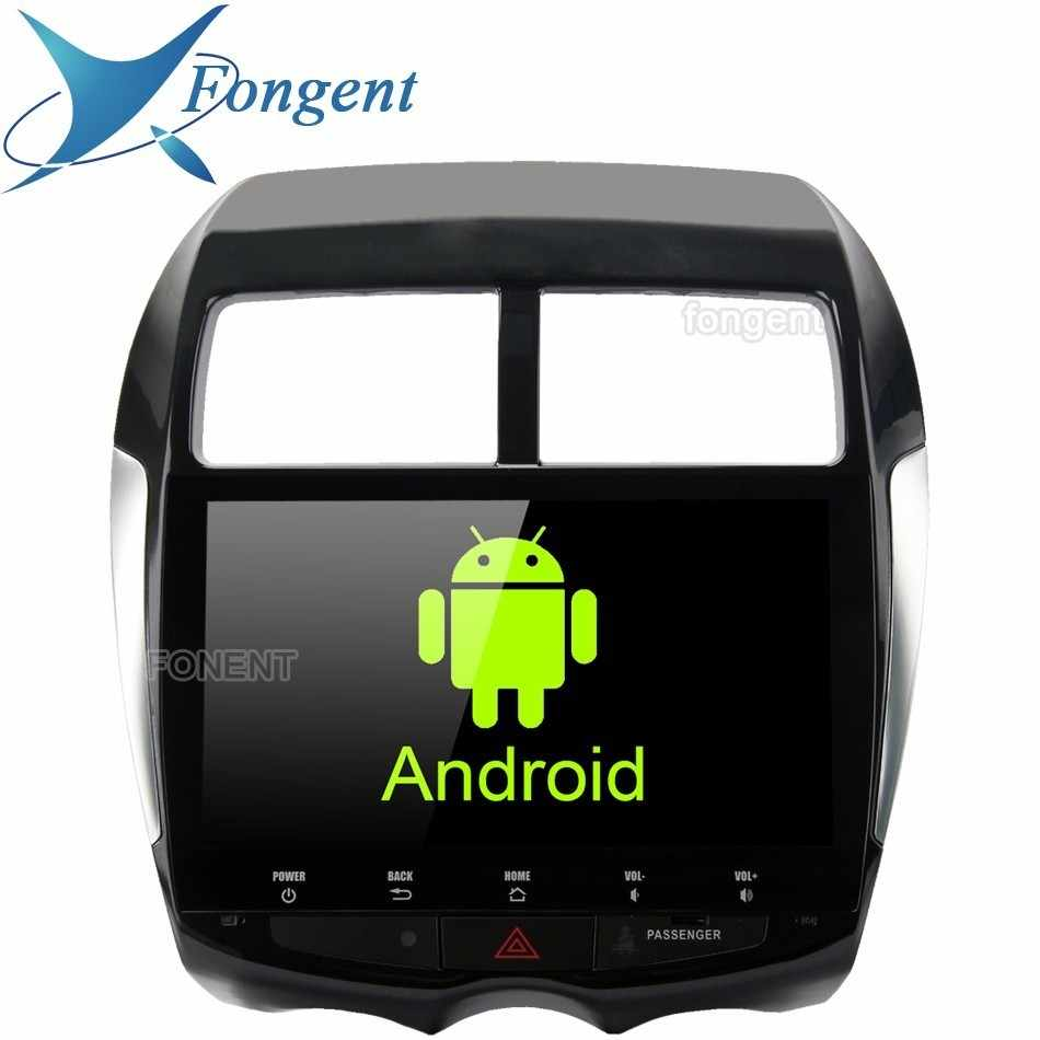 "Android 8.0 4 gb ram 32 gb rom gps multimídia player 10.2 ""tela de toque hd para mitsubishi asx 2009 2010 2011 2012 2013 2014 2015"