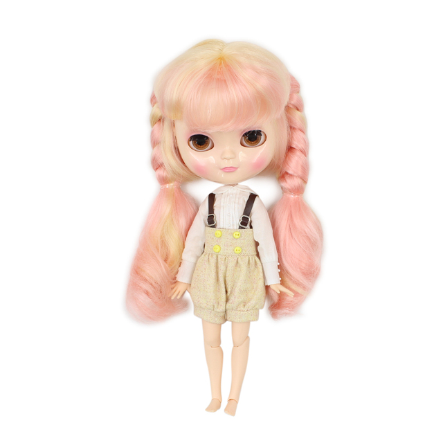 Fortune Days New ICY DBS Doll Azone Joint Body Small Chest with a braidFull Set Clothes, Shoes, Hand Set and Stand BL313/1010