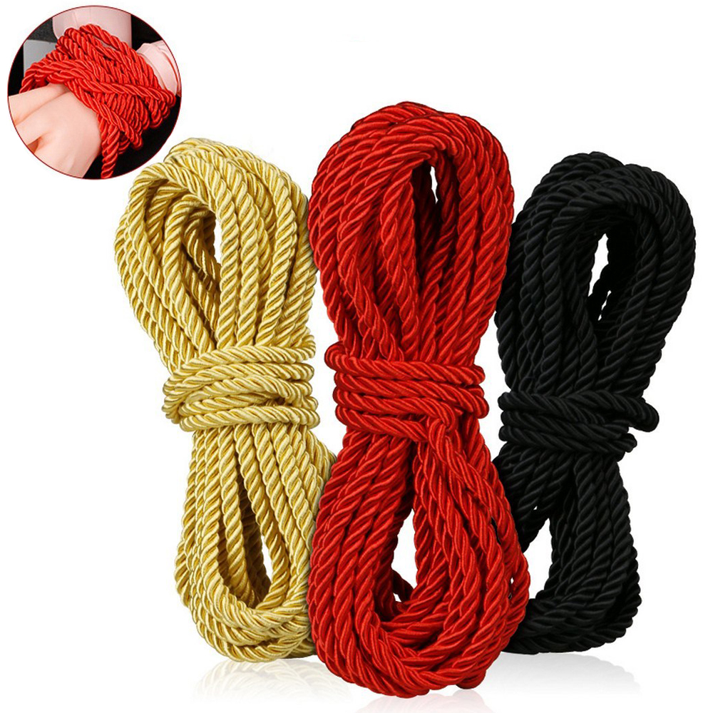 Cotton BDSM Bondage Rope 10m Long Thick Body Tied Ropes SM Slave Game Restraint Product Adult Sex Toys Fetish Belt Straps