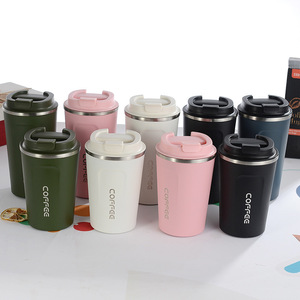 Image 5 - New Style Double Stainless steel 304 Coffee Mug Car Thermos Mug Leak_Proof Travel Thermo Cup Thermosmug For Gifts