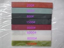 8pc High quality Apex edge sharpener whetstone grinder stone Oil stone 150*20*5mm