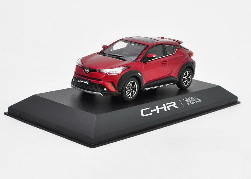 1/43 Toyota CHR C-HR Red Diecast Car Model Collection Toy