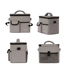 лучшая цена 900D Oxford Picnic Pack Cooler Bag Thermo Lunch Box Insulated Outdoor Ice Pack Handbag Fresh Carrier Thermal Shoulder bags A153