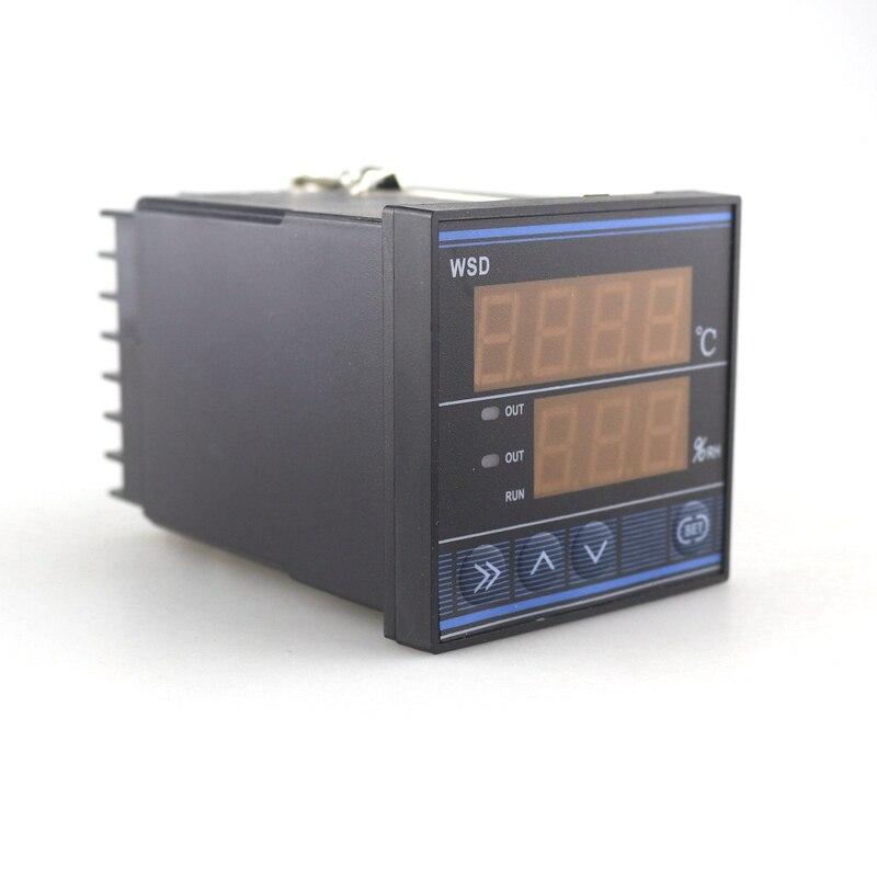 TDK0302LA湿度温度コントローラ220ボルト50 60 hzデジタルサーモスタット湿度制御でセンサー用卵インキュベーター農業  グループ上の ツール からの 温度計測機器 の中 3