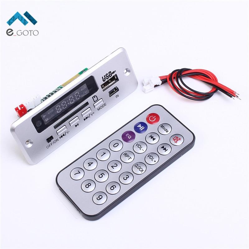 Новый мини 5 В MP3 декодер доска <font><b>Bluetooth</b></font> вызова модуль декодирования MP3 WAV U-диска и карты памяти usb с 2*3 Вт Усилители домашние пульт дистанционного&#8230;