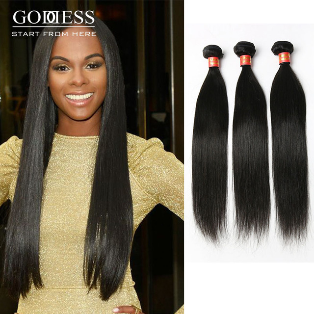 Hot Sale Human Hair Extensions 3 Pcs Lot 100 Indian Human Hair For