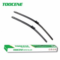 Toocene Wiper Blades For VW Amarok 2013 2015 24 24 Fit Push Button Wiper Arms Windscreen