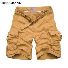 Hee grand herren shorts 2017 sommer neue ankunft lose stil mehrfach shorts knielangen casual bermuda s-3xl größe mkd726