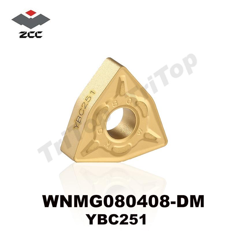 حمل و نقل رایگان WNMG 080408-DM YBC251 ZCC.CT CNC - ماشین ابزار و لوازم جانبی