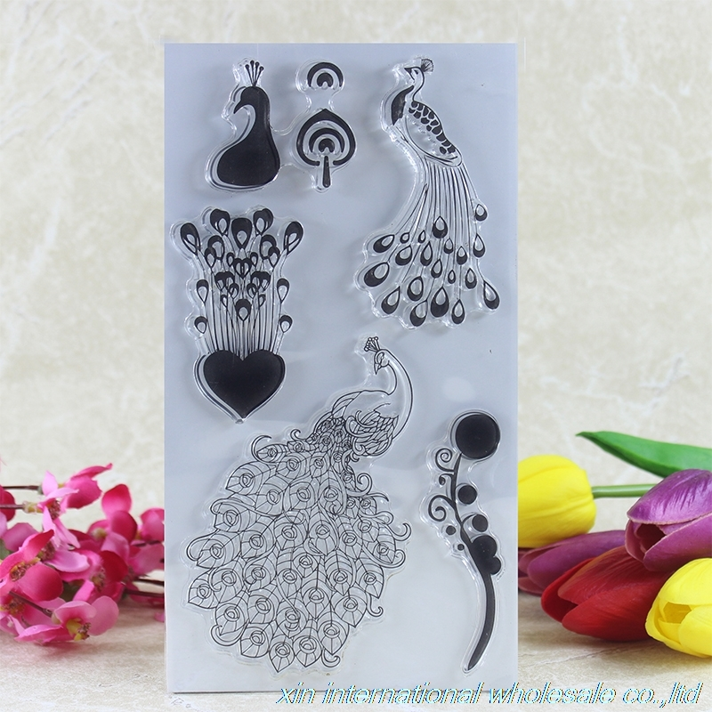 2pcs/bag diy clear stamps scrapbooking ACRYLIC VINTAGE stamps for scrapbooking clear stamp scrapbooking stamp diy size 14cm 18cm acrylic vintage for photo scrapbooking stamp clear stamps for scrapbooking clear stamps 04