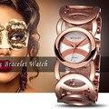 Weiqin marca mágica nova moda senhora relógios de ouro mulheres de aço inoxidável completa relógios de pulso de quartzo relojes mujer relogio feminino