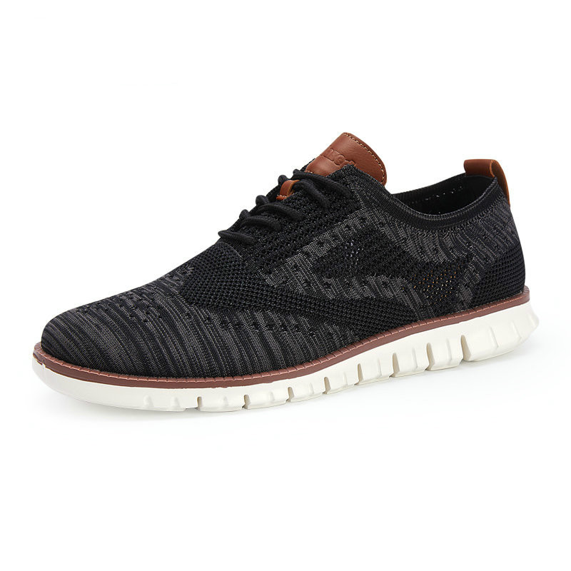 QWEDF Sneakers Men Shoes for Man Trainers Fly knitted Male Light Sock Shoes Designer Sole Causal Footwear Autumn Shoes DP 69