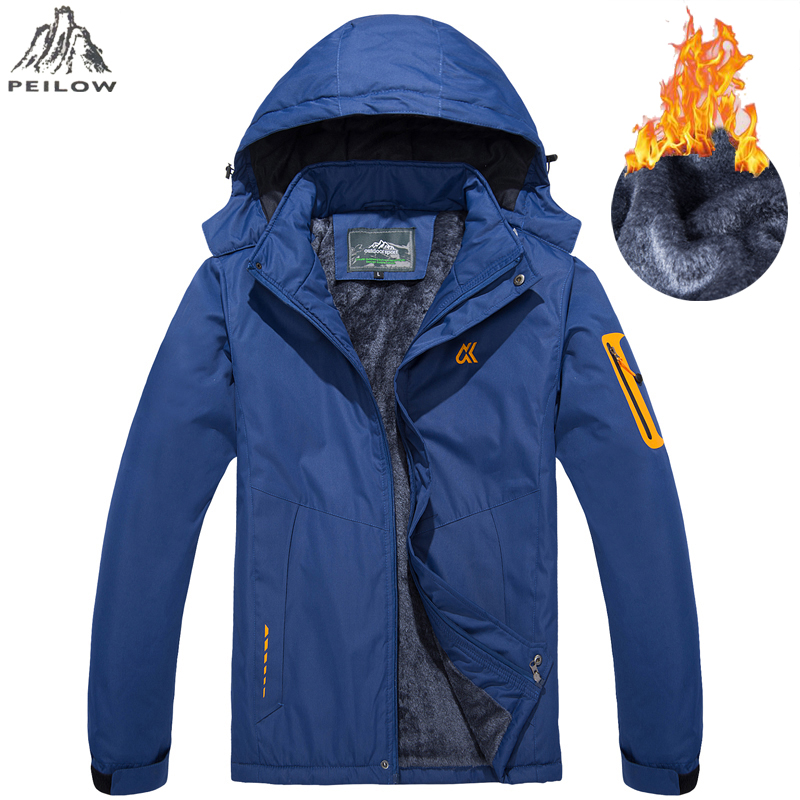 Size M-6XL 7XL Fur Collar Hooded Men Winter Jacket 2019 New Warm Thicken Parka Man Jacket And Coat Windproof Male Parkas Casaco