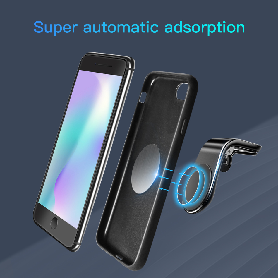 ACCEZZ Round Magnetic Metal Plate Disk For Car Phone Holder Iron Sheet Sticker Thin Magnet For Mobile Phone Bracket Accessory in Phone Holders Stands from Cellphones Telecommunications