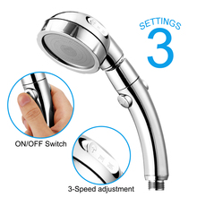 Shower-Head High-Pressure Adjustable Rainfall Ce Three-Mode Air-Injection High-Quality