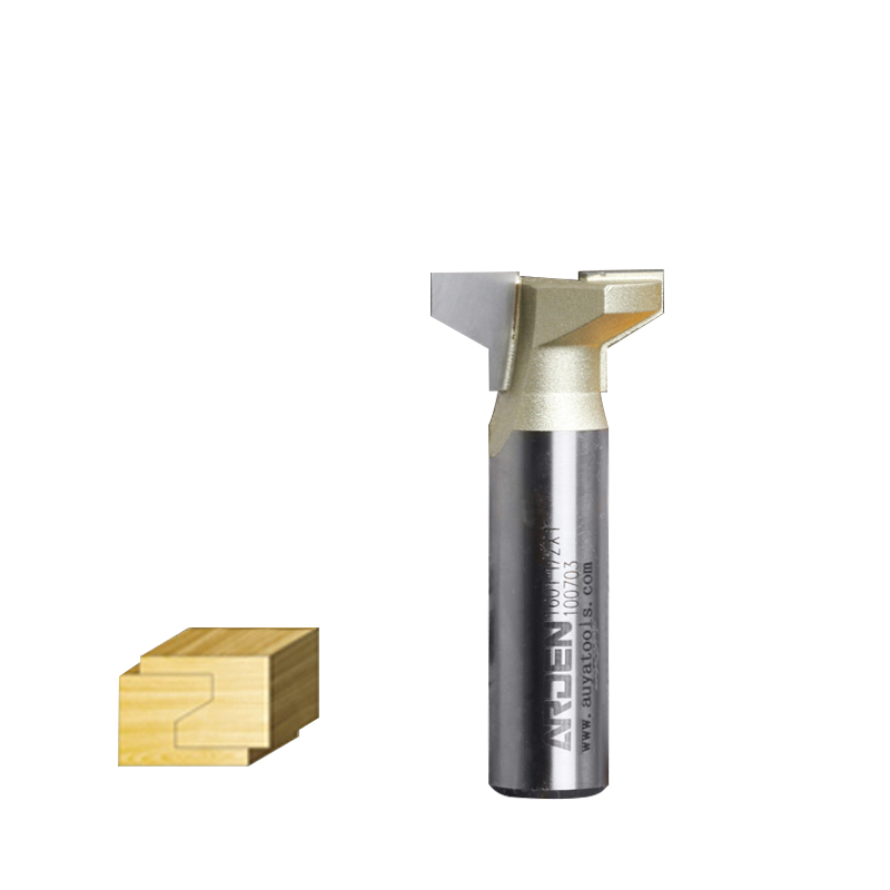 Dovetail Straight T-Slot Arden Router Bit- 1/2*1*25.4mm
