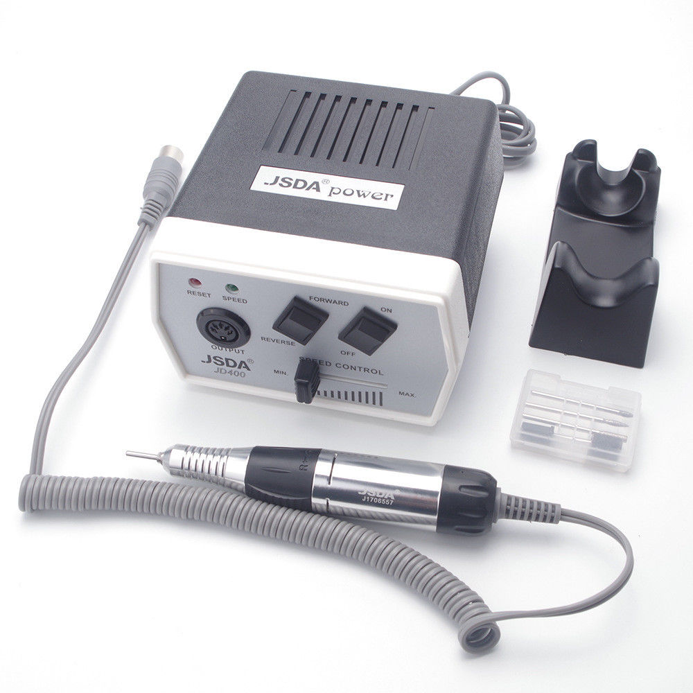 30000 RPM 35W Professional Electric Nail Drill Manicure Machine Pedicure Nail Art Equipment Bits Electric Nail File 220V