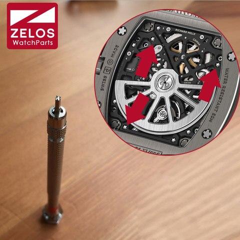 Chave de Fenda para Richard Movimento do Relógio Mecanismo de Parafuso Ferramentas de Reparo Pontas Milha Mirco Rm035 Rm011 Rm056 Rm052 1.5mm5 rm –
