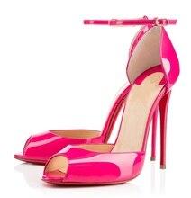 Amourplato Frauen Lady Fashion High Heel Sandaletten T-strap Peep Toe Sandalen Schuhe 12 cm Stiletto Schuhe Rose