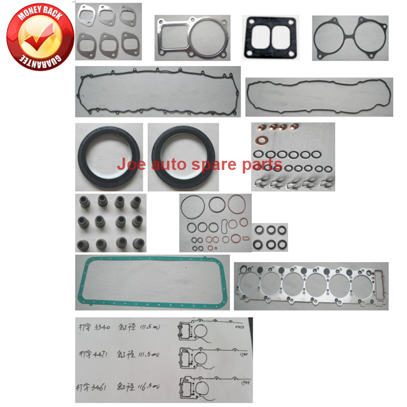 Useful 6hh1 6hh1t Engine Full Gasket Set Kit For Isuzu Encava Truck Bus Nrr Fsr700 Fsr33 8.2l Auto Replacement Parts