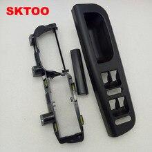 SKTOO 3 шт. черный цвет для VW Passat B5 межкомнатный дверной подъемник с рукояткой переключатель кронштейн опорные колпачки 3U1 867 179 3B1 867 171 E 3B0 867