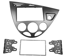 Double Din Stereo Panel for Ford Ford Focus /Fiesta Fascia Radio CD frame Refitting Dash Mounting Installation Trim Kit Face