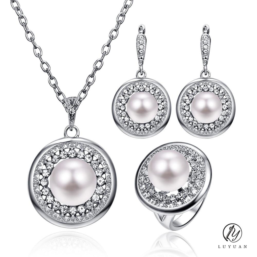 Aliexpress.com : Buy Elegant Round Drop Pendant Women ...