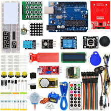 Keyes kit de aprendizagem arduino rfid com uno r3 atualização arduino starter kit para aprendizagem em rede