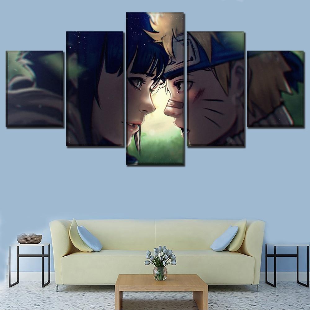 Naruto Hinata HD Canvas Print Wall Poster Scroll Room Decor