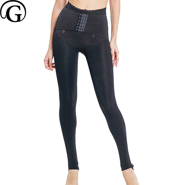 854ac7f39 PRAYGER Woman Full Legs Compression Waist Control Panties Slimming Thigh  Body Shaping Underwear Butt Lift Body